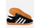 Кроссовки Adidas Originals Hamburg Black - Фото 5