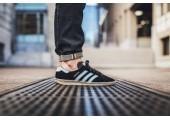 Кроссовки Adidas Originals Hamburg Black - Фото 2