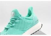 Кроссовки Adidas Consortium Ultra Boost Uncaged Green Mint - Фото 5