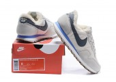 Кроссовки Nike Internationalist White С МЕХОМ - Фото 3