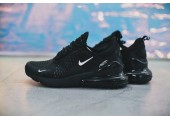 Кроссовки Nike Air Max 270 Flyknit Black - Фото 1