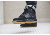 Кроссовки Nike Lunar Force 1 Duckboot Black Gum - Фото 8