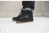 Кроссовки Nike Lunar Force 1 Duckboot Black Gum - Фото 7