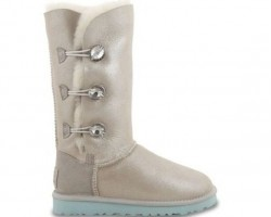 UGG BAILEY BUTTON TRIPLET II BOOT I DO