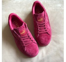Кроссовки Puma Suede Creeper x Rihanna Bordo