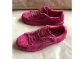 Кроссовки Puma Suede Creeper x Rihanna Bordo - Фото 4