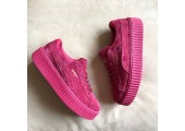 Кроссовки Puma Suede Creeper x Rihanna Bordo - Фото 5