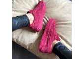 Кроссовки Puma Suede Creeper x Rihanna Bordo - Фото 6