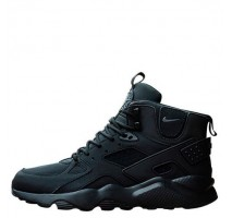 Кроссовки Nike Air Huarache Winter All Black