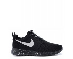 Кроссовки Nike Roshe Run Black/White-Dots