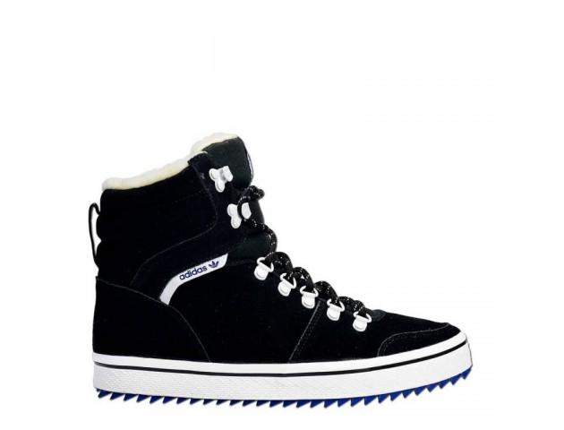 Кроссовки Adidas Honey Hill Black С МЕХОМ