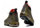 Кроссовки Nike Air Max 95 Sneakerboot Dark Brown/Red - Фото 4