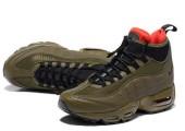 Кроссовки Nike Air Max 95 Sneakerboot Dark Brown/Red - Фото 2
