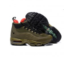 Кроссовки Nike Air Max 95 Sneakerboot Dark Brown/Red