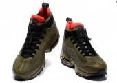 Кроссовки Nike Air Max 95 Sneakerboot Dark Brown/Red - Фото 5