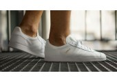 Кроссовки Adidas Gazelle Leather Trainers White - Фото 5