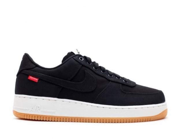 Кроссовки Supreme x Nike Air Force 1 Low Black