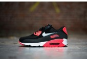 Кроссовки Nike Air Max 90 Black/Red - Фото 3