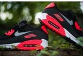 Кроссовки Nike Air Max 90 Black/Red - Фото 2