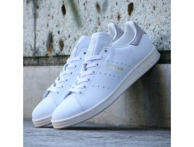 Кроссовки Adidas Stan Smith White/Grey