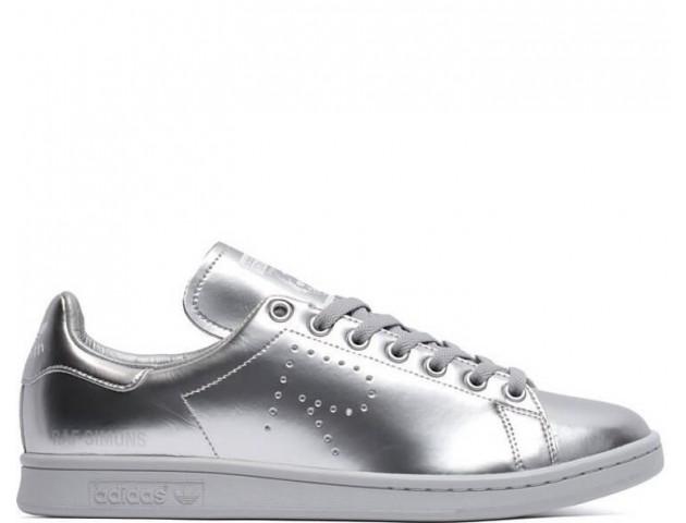 Кроссовки Raf Simons x Adidas Stan Smith Metallic Silver