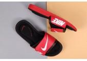 Шлепанцы Nike Comfort Black/Red - Фото 4