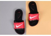 Шлепанцы Nike Comfort Black/Red - Фото 3
