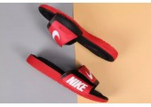 Шлепанцы Nike Comfort Black/Red - Фото 2