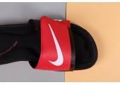 Шлепанцы Nike Comfort Black/Red - Фото 6
