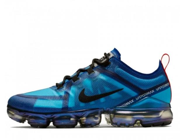 Кроссовки Nike Air VaporMax 2019 Indigo Force/Lakeside/Light Blue