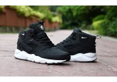 Кроссовки Nike Air Huarache Winter Black - Фото 4