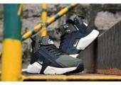 Кроссовки Nike Huarache X Acronym City MID Leather Haki/Black - Фото 5