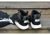 Кроссовки Nike Huarache X Acronym City MID Leather Haki/Black - Фото 4