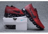 Кроссовки Nike Air Vapormax Dark/Team Red - Фото 2