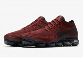 Кроссовки Nike Air Vapormax Dark/Team Red - Фото 4