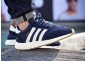 Кроссовки Adidas Iniki Runner Navy/White - Фото 5
