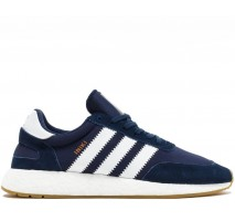 Кроссовки Adidas Iniki Runner Navy/White