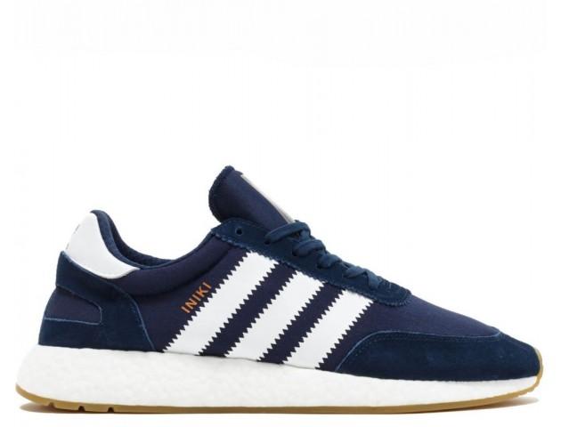Кроссовки Adidas Iniki Runner Navy/White