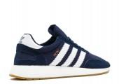 Кроссовки Adidas Iniki Runner Navy/White - Фото 2