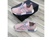 Кроссовки Adidas NMD R1 Rose/Grey - Фото 8