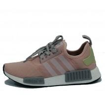 Кроссовки Adidas NMD R1 Rose/Grey