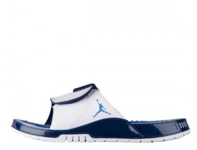 Шлепанцы Air Jordan Hydro XI Blue/White