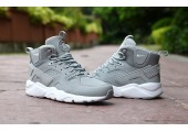 Кроссовки Nike Air Huarache Winter Grey - Фото 3