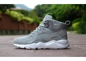 Кроссовки Nike Air Huarache Winter Grey - Фото 2