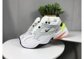 Кроссовки Nike M2K Tekno White/Orange/Grey - Фото 1