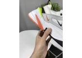 Кроссовки Nike M2K Tekno White/Orange/Grey - Фото 5
