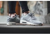 Кроссовки Nike Air Max 90 Premium Grey Shampain - Фото 4