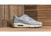 Кроссовки Nike Air Max 90 Premium Grey Shampain - Фото 2