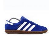 Кроссовки Adidas Originals Hamburg Deep Blue - Фото 4