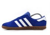 Кроссовки Adidas Originals Hamburg Deep Blue - Фото 1